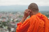 Monk in Thailand — Stock Photo
