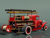 Fire truck PMG-1 — Stock Photo
