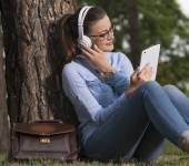 Resting in the park — Stock Photo