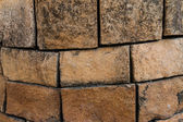 Nature stone wall — Stock Photo
