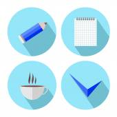 To-Do List Icons — Stock Vector