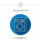 Washing machine icon. Washer sign. — Stock Vector