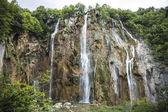 La cascata enorme — Foto Stock
