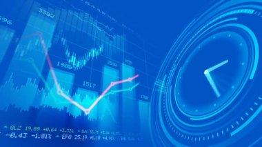 Stock market concept — Stock Video