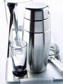 Metal Thermos — Stock Photo