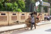 Kamboçyalı sokak satıcısı — Stok fotoğraf