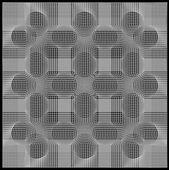 Geometri şekil tasarım için — Stok Vektör