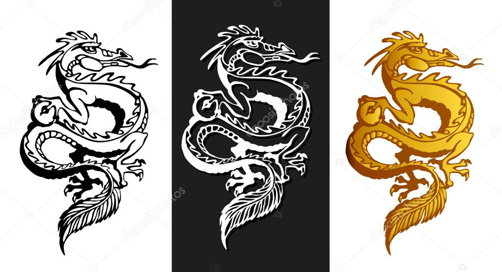 Oriental Dragon Clipart - Clipart Kid