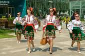Spettacolo internazionale di scambi culturali a Seoul, South Korea — Foto Stock