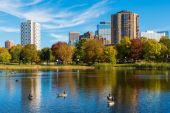 Loring Park in Autumn 4 — Stock Photo