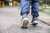 Shoes for jogging — Stock Photo