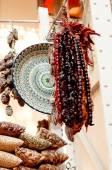 Oriental sweets on market. — Stock Photo