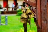 Buddhist temple bells — Stock Photo