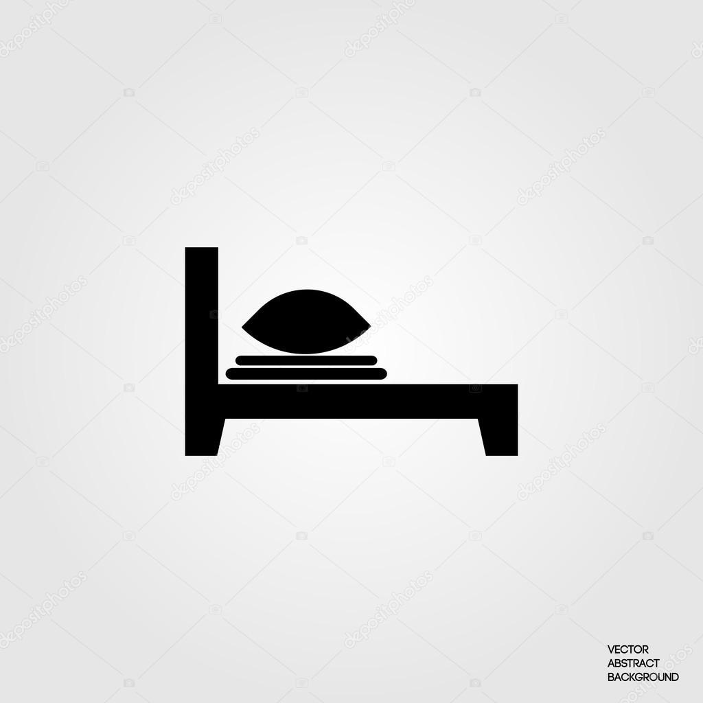 leinen symbol bettw sche kissen bettw sche decken bett waschen silhouette bett symbol. Black Bedroom Furniture Sets. Home Design Ideas