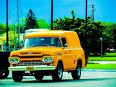 Classic Ford truck — Stock Photo