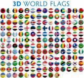 Flagi kraju świata — Zdjęcie stockowe