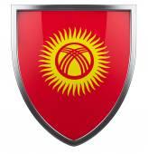 Kyrgistan flag — Stock Photo