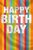 Happy Birthday Party — Stock Photo