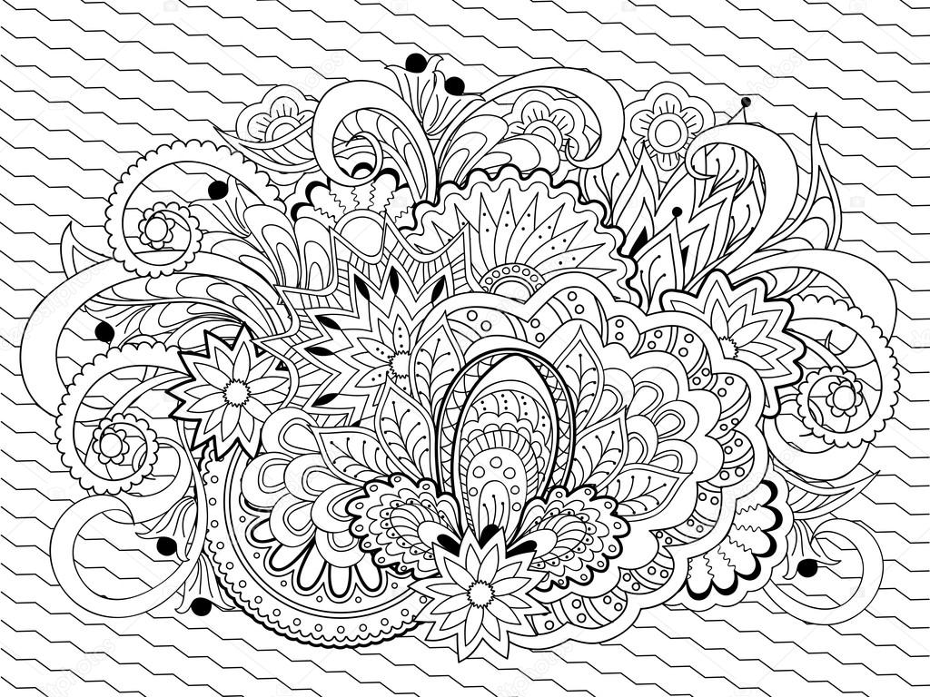 Henna Coloring Pages Best Home Design And Decorating Ideas