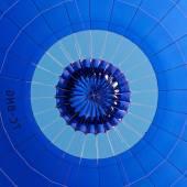 Detail of hot air balloon — Photo