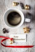 Christmas stilleben, fika, tag — Stockfoto