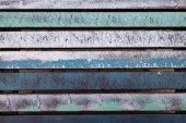 Colorful wood slats — Stock Photo