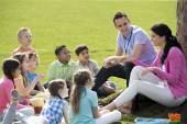 Outdoor Lesson — Stock Photo