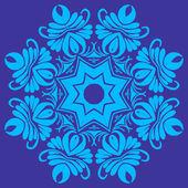 Mandala. Éléments décoratifs ethniques. Fond de dessinés à la main. Isla — Vecteur