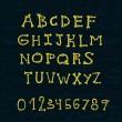 Постер, плакат: Bones alphabet