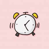 Alarm icon — Stock Vector