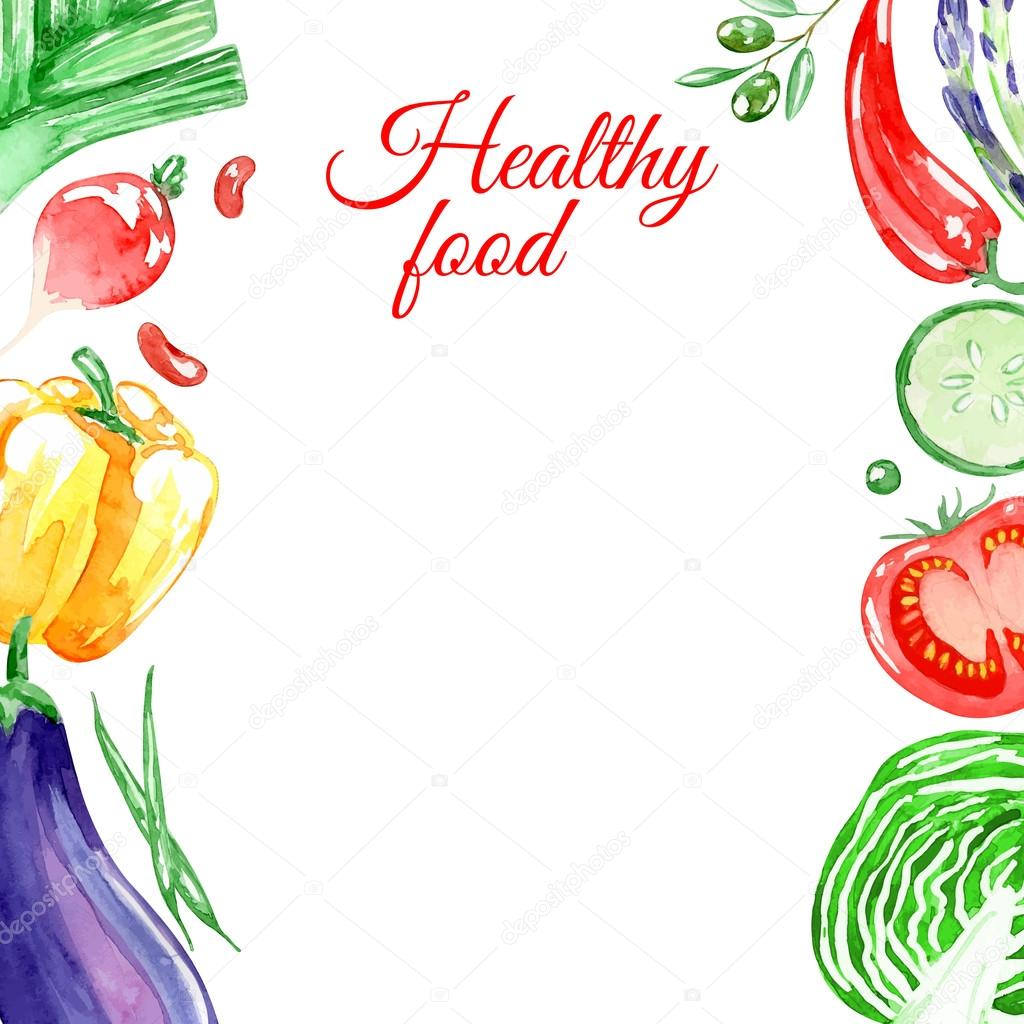 Healthy Food With Cabbage