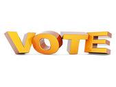 Word Vote — Stock Photo