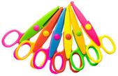 Zigzag scissors set — Stock Photo