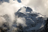 Glaciers, ice and permanent snow on Eiger, near Grindelwald, Switzerland — Stock Photo