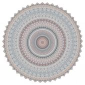 Colorful religious mandala circle — Stock Photo