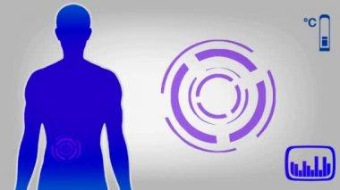 Appendix - blue 001 — Stock Video