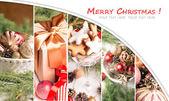 Collage di Natale — Foto Stock