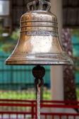 Big brass bell — Stock Photo