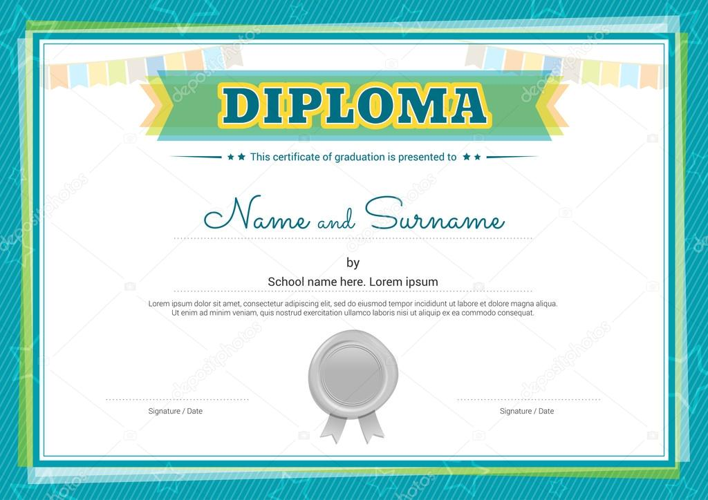 Free Diploma Certificate Template