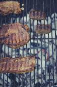 Barbecue meat and beef — Stock Photo