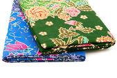 Стек тайские ткани — Стоковое фото