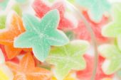 Jelly candies star — Stock Photo