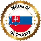 Made in Slovakia — Stock Vector
