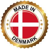 Сделанный в Дании — Cтоковый вектор