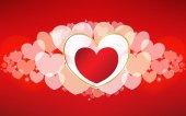 Wektor Walentynki karty — Wektor stockowy