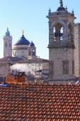 Red Roof Bergamo — Stock Photo