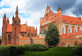 Vilnius, Church of St. Anne — Stock Photo