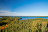 View on finnish landscape — Stock Photo