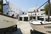 Fishing boats, Menorca, Spain — Stock Photo