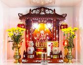 Sanctuaire domestique chinois — Photo